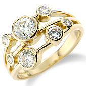 7-stone Scatter Ring (1ct)