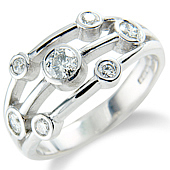 7-stone Scatter Ring (0.50ct)