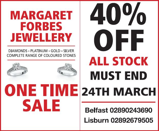 Margaret Forbes Jewellery Belfast Lisburn